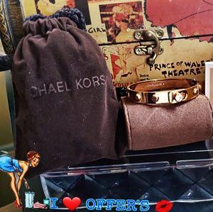 Michael Kors Bangle Rose Gold Bracelet